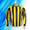 Football 100% de la douille de l'homme de polyester le long Jersey