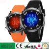 Diodo emissor de luz Watches de Digital Sport do silicone para Promotion