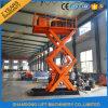 Hydraulischer elektrischer Heber-vertikaler Ladung-Heber für anhebende Waren