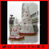 Luz artificial da árvore do cone do Natal da decoração ao ar livre do diodo emissor de luz