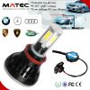 80W 8000lm PFEILER LED helle Lampe H11 H4 H7 9005 9006 LED-Scheinwerfer-Installationssatz