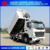HOWO A7 중간 기울이는 20m3 덤프 트럭 30tons 팁 주는 사람 트럭