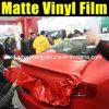 Пленка винила тела обруча автомобиля Matt красная от фабрики