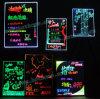 Fluorescente LEIDENE Schrijvende Raad, multi-Kleuren die met Hand en Afstandsbediening worden veranderd