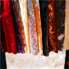 Changshu Manufacturer Polyester 100% Yarn Dyed, Crushed Ice Velvet, Stretch Span Velvet per Sofa, Curtain, Upholstery