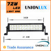 Goedkope 14.5inch 72W LED Light Bar Dual Row