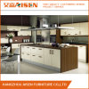 Gabinete de cozinha envolvido vinil da carcaça do MDF e da melamina