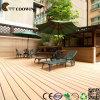 建築材料の屋外の装飾的な固体WPC Decking、WPCのフロアーリング(TW-K03)