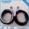 Riscaldatore di bobina caldo del corridore con il Leadwire Braided dell'acciaio inossidabile