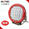 High power Red Black 96W 4330lm Work Light