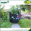 La piantatrice sveglia del giardino del feltro del nero di Onlylife coltiva i sacchetti per il fiore/pianta