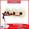 Ferme Implements Manufacturer Hay Rake pour Tractor 50HP 9glz