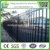 Frontière de sécurité ornementale peinte par noir de fer travaillé de qualité