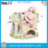 Het gevoelige Geheime Ceramische Huis van de Tuin van de Bloem van de Fee