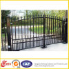 Driverwayのための黒いPowder Coated Metal Fence Gate