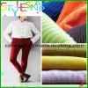 do veludo de algodão 21Wales tela 100% de algodão reta para a matéria têxtil (610-304)