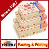 Boîte-cadeau Treat Box Pack de Clovery Fancy Design Decoration de 3 (12C7)