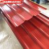Baumaterial-vor angestrichenes Metalldach