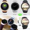 Pantalla táctil redonda del IPS de la visualización completa Smartwatch