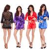 Sleepwear M9068 горячего женское бельё шнурка надувательства сексуального Silk