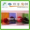 vidro modelado de 4mm/vidro oceânico colorido