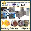 Planta de flutuação do moinho de alimentação dos peixes da condição nova automática