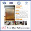 Portello isolato poliuretano scorrevole automatico dell'acciaio inossidabile
