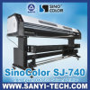 Dx7 Eco Solvent Printer Sinocolor Sj-740、Outdoor&Indoor Advertizingのための1440年のDpi、