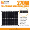 270W Tri-Складывая набор панели солнечных батарей 12V складной солнечный