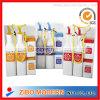 Decalcomania che inforna le bottiglie di ceramica della spezia con il contenitore di PVC
