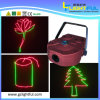 200MW Red e Green Home Laser Equipamento Light Show