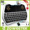 2.4GHz contre éclairé Mini Wireless Keyboard avec Air Mouse pour Smart TV