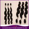 Trame indienne de prolongation de cheveux humains de vague de la meilleure qualité de corps