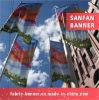 Bandera colgante, bandera barata al aire libre de la flexión del poliester de la tela de la impresión de Digtial