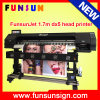 Impressora solvente de Eco da velocidade rápida com Dx5 cabeça, 1440dpi, Funsunjet Fs-1700h