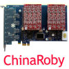PCI-E 연결관 Analog Card FXS Card를 가진 Aex800 8 Port FXO Card