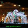 巨大なクリスマスの装飾の点滅の庭の軽い謝肉祭屋外ライト