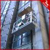 Plate-forme de fonctionnement suspendue galvanisée pour la décoration, le nettoyage et la maintenance