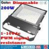 Preço de fábrica 5 anos de lâmpada principal ao ar livre impermeável do diodo emissor de luz de Dimmable 200W da garantia