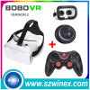 Bluetooth Gamepad + vidrios de la realidad virtual 3D Vr de la cartulina de Google