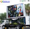 Pantalla móvil montada vehículo del LED para el carro