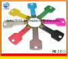 Llave Metal Forma USB Flash Drive, Flash Drive Tecla personaliz Logo USB Promocional