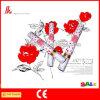 Partido Popper del confeti de los pétalos de Rose de la boda en buena calidad