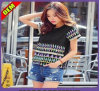 Mode Sexy Cotton Printed T-Shirt pour Women (W274)