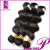 Capelli malesi dell'onda del corpo dei capelli del Virgin lungo delle donne