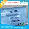 RFID 동물성 유리제 꼬리표를 가진 ISO11784/5 Fdx-B 처분할 수 있는 RFID 주사통