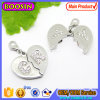 Couple를 위한 주문 Letter Magnetic Heart Necklace Charm