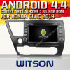 Honda Civic Sedan 2014년 (W2-A7023)를 위한 Witson Android 4.4 System Car DVD