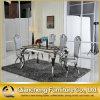 870#ヨーロッパの現代様式の人造の大理石のダイニングテーブル