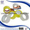 con la cinta adhesiva amarillenta del embalaje del dispensador BOPP de la cinta
